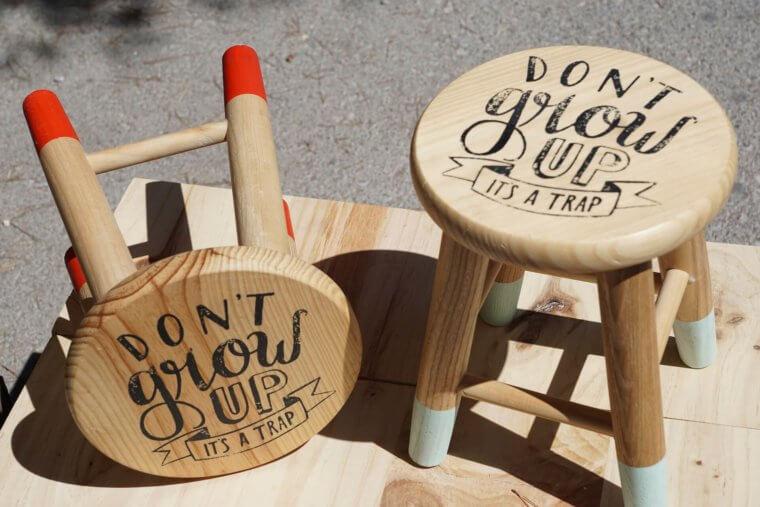 椅子のメッセージ