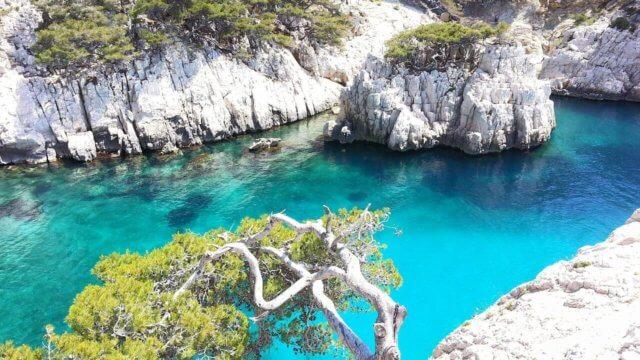 地中海の海