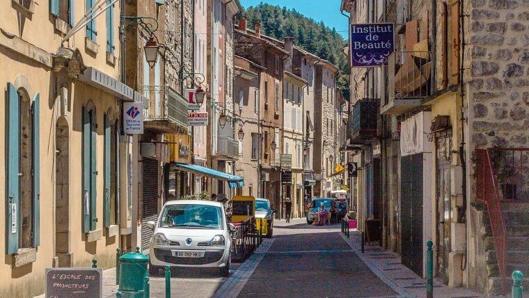 フランスの街角