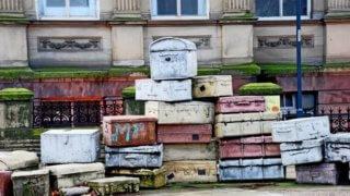 古いスーツケース