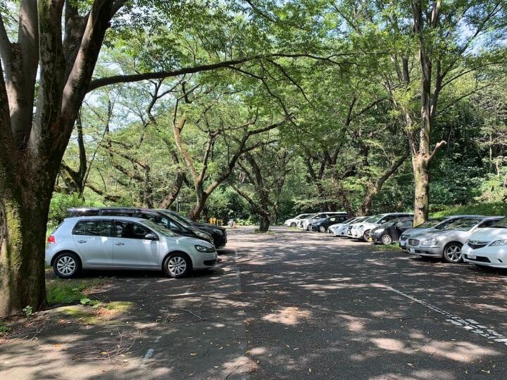 ICU駐車場